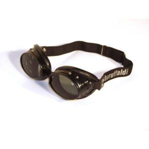 101 Oval Aluminium Black
